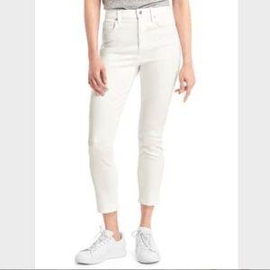 Gap True Skinny Super High Rose Crop Jeans, 4/27